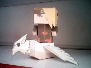 Deidara From AnimePaperToys