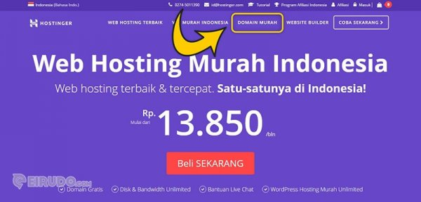 Domain Murah Hostinger