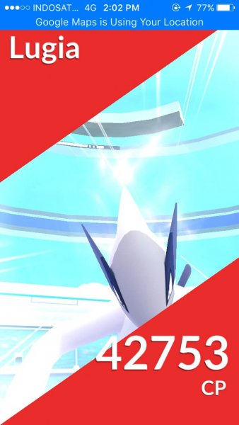 Raid Battle Lugia
